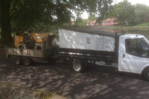Birstall Tree Services Truck and Trailer