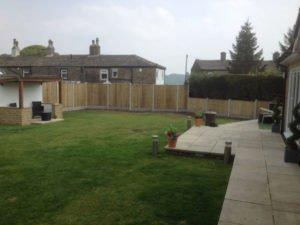 Birstall Tree Services Garden Fenced