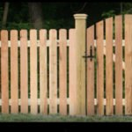 Birstall Tree Services Fence with Gate